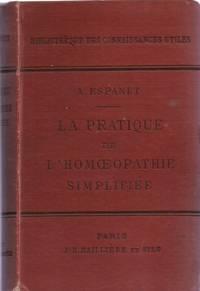 La pratique de l'Homoeopathie simplifiée ( 3e édition )