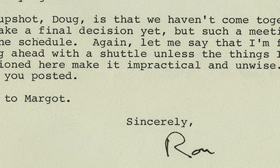 """29/05/1986. Ronald Reagan """"We do have some problems…Now, of course, we've had the recent finding..."""