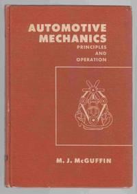 Automotive Mechanics Principles and Operation