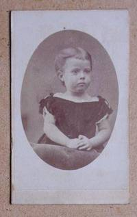 Carte De Visite Photograph: Portrait of a Young Girl.
