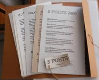 5 Poets 2008 (Suite of Signed Broadsides)