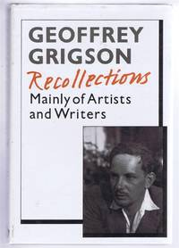 Recollections, Mainly of Writers & Artists