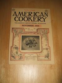image of American Cookery for November 1940