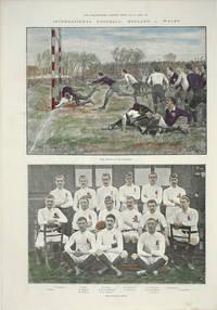 image of International Football: England v. Wales.  The Match at Blackheath.  A Photograph of the English Team