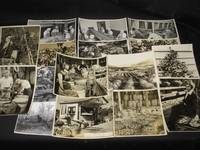 Collection of 17 original photographs relating to fruit growing and fruit picking in Canada (Ontario and Nova Scotia)