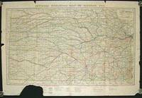 Official Railroad Map of Kansas, 1906