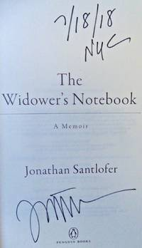 WIDOWER'S NOTEBOOK (SIGNED, DATED, NYC)