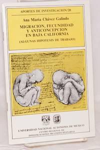 image of Migracion, fecundidad y anticoncepcion en Baja California (algunas hipotesis de trabajo)