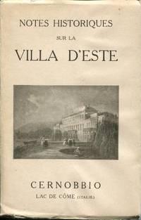 Notes Historiques Sur La Villa D\'Este