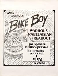 Bike Boy (Original poster for the 1967 film)