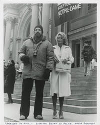 image of Dressed to Kill (Original photograph of Brian De Palma and Angie Dickinson shot on location during filming for the 1980 film)