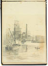 View Image 8 of 13 for Original Sketches, Watercolors, Photographs, Correspondence, other Manuscript Material, Printed Ephe... Inventory #28460