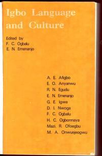 IGBO LANGUAGE AND CULTURE