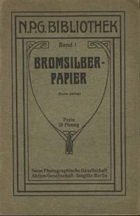BROMSILBER-PAPIER.  BAND 1