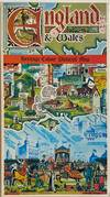 View Image 2 of 2 for England & Wales Heritage Colour Pictorial Map Inventory #298229