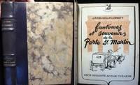 160 Ans De Theatre Fantomes et Souvenirs De La Porte-St-Martin