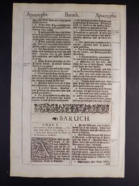 THE HOLY BIBLE CONTAINING THE OLD TESTAMENT AND THE NEW.... by GOD - FIRST EDITION, FIFTH ISSUE - 1611 - from ANCIENT WORDS EVER TRUE RARE BIBLES (SKU: 1640BARTP)
