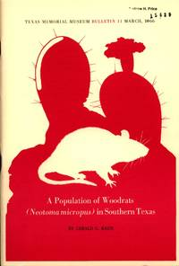 image of A Population of Woodrats (Neotoma Micropus) in Southern Texas
