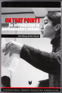 image of On That Point!: An Introduction to Parliamentary Debate
