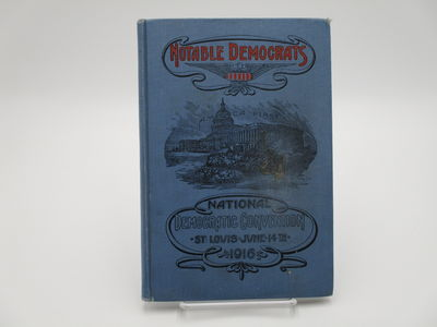 St. Louis.: Lon Sanders. , 1916. Pictorial blue cloth, red and black cover titles and decorations, n...