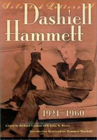 image of Selected Letters of Dashiell Hammett, 1921-1960