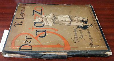 Berlin: Adolph Fürstner, 1893. Hardcover. Octavo; Poor/no DJ; Hardcover w/out DJ; Spine, brown with...