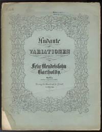 [Op. 83a]. Andante und Variationen [Piano 4-hands] für das Pianoforte zu vier Händen ... Op. 83.a. (No. 12 der nachgelassenen Werke.) Eigene Bearbeitung des Componisten nach dessen Op. 83
