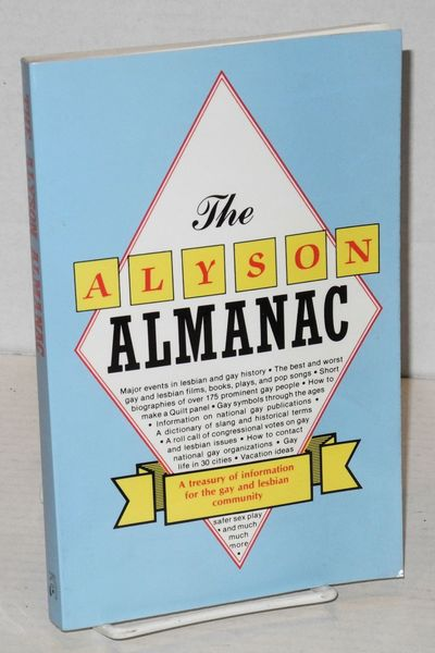 Boston: Alyson Publications, 1989. Paperback. 208p., vignette b&w illustrations in the text, first e...