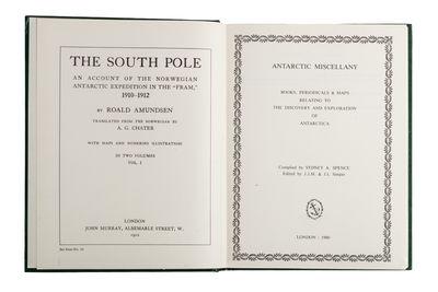 Antarctic Miscellany. Books,...