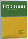 The Freeman: A Monthly Journal of Ideas on Liberty Vol. 29, No. 10 (October 1979)