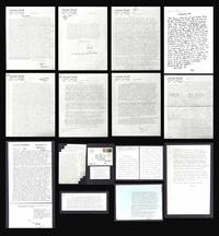 13 TLS, 1 ALS FROM LAURENCE DURRELL TO HENRY MILLER, 1975-1979