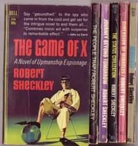 Robert Sheckley grouping:  - The Game of X;  with - Mindswap; with - Dimension of Miracles; with...