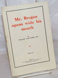 image of Mr. Brogan opens wide his mouth