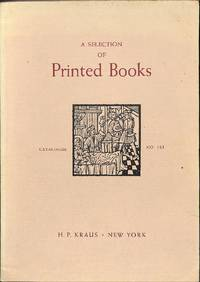 Catalogue 161/(c. 1978): A selection of printed books.