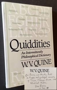 Quiddities: An Intermittently Philosophical Dictionary