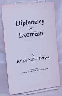 image of Diplomacy by exorcism, a lecture given at Oregon State University Corvallis, Oregon February 13, 1984