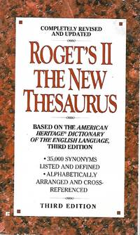 image of Roget's II - The New Thesaurus