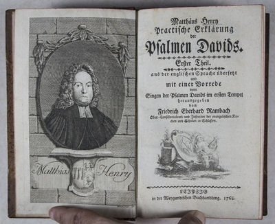 Leipzig: Weygand, 1770. First edition. Hardcover. vg- to vg+. Octavo. (1) 788, 703, 616pp. Original ...