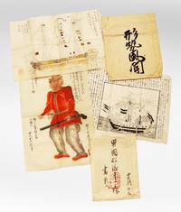 A group of drawings & Japanese internal government communiqués on foreign incursions