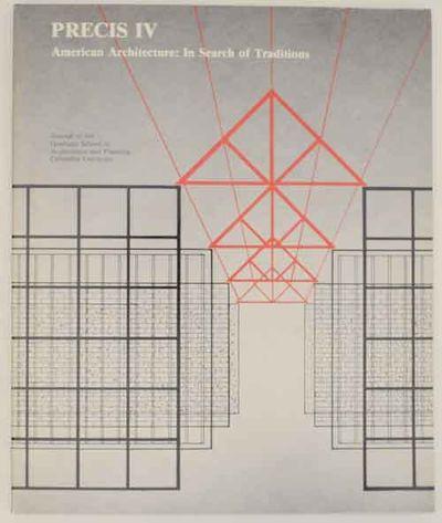 New York: Graduate School of Architecture and Planning, Columbia University and Rizzoli Internationa...