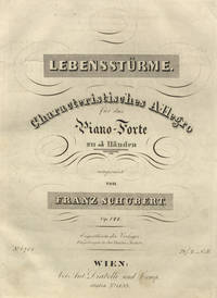 [D. 947]. Lebensstürme. Characteristisches Allegro für das Piano-Forte zu 4 Händen ... Op. 144 ... Pr. f2._ C.M.