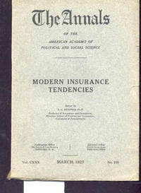 AMERICAN ACADEMY OF POLITICAL AND SOCIAL SCIENCETHE ANNALS, VOL. CXX,  MARCH 1927 NUMBER 219 Farm Relief