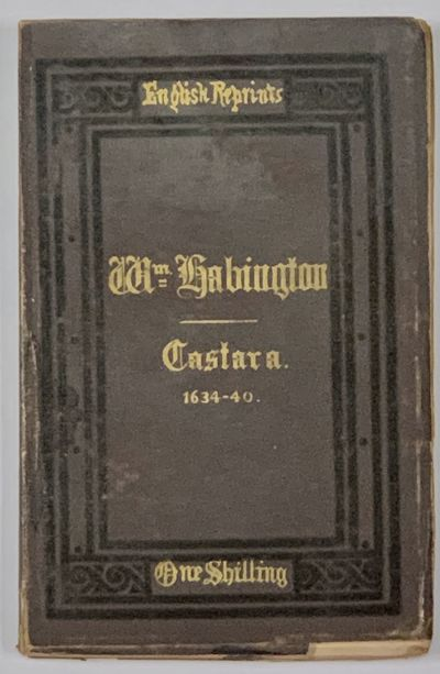 London, 1870. 1st edition thus. Reprint of the 3rd edition of 1640; edited and collated with the ear...