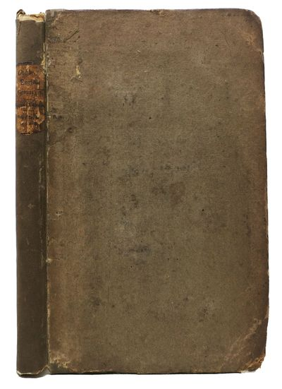 London: Printed for the Author, 1819. 2nd edition (Pearl 96). Original boards with restored cloth sp...