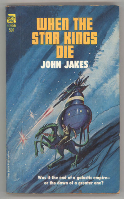 New York: Ace Books, 1967. Small octavo, pictorial wrappers. First edition. Ace Books G656. First in...