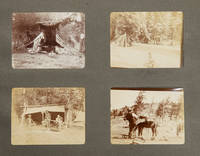 An album of vernacular photographs recording hunting trips to Wyoming, Hudson's Bay and Florida