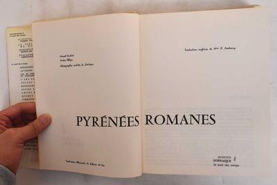 Saint-Leger-Vauban, France: Zodiaque, 1969. Hardcover. VG+. light staining to upper textblock; pgs a...