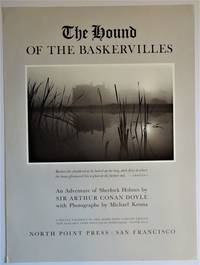 Promotional Poster: The Hound of the Baskervilles by  Sir Arthur Conan; Photographs By Michael Kenna Doyle - First Printing - 1986 - from Dale Steffey Books (SKU: 007381)