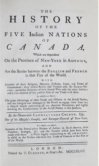image of The History of the Five Indian Nations of Canada