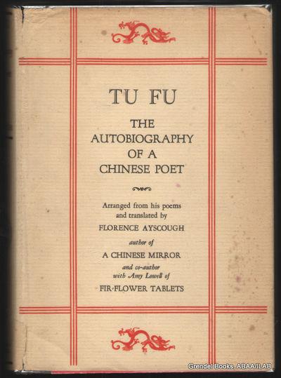 Boston / NY:: Houghton Mifflin Company,. Good in Good dust jacket. 1929. Hardcover. B003YU0JNQ . Vol...